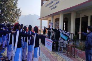 जल संरक्षण कार्यक्रम का आयोजन