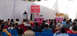 सेवला कलां में संघ परिचय वर्ग का आयोजन
