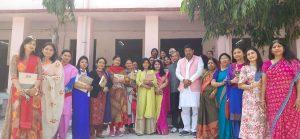 राजकीय कन्या इंटर कॉलेज ज्वालापुर में मनाया गया महिला दिवस