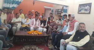 भाजपा प्रदेश अध्यक्ष मदन कौशिक का उत्तरकाशी दौरा संगठन जुटा तैयारियों में