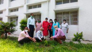 विश्व पर्यावरण दिवस के मौके पर, बी0एस0नेगी महिला पाॅलिटैक्निक ने किया परिसर में वृक्षारोपण