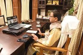 मुख्यमंत्री पुष्कर सिंह धामी ने किया पंचम राष्ट्रीय ई.चिंतन सत्र में वर्चुअल प्रतिभाग