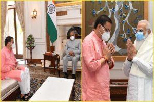 राष्ट्रपति कोविंद व पीएम मोदी से मिले सीएम धामी उत्तराखंड के विकास कार्यों को लेकर की चर्चा