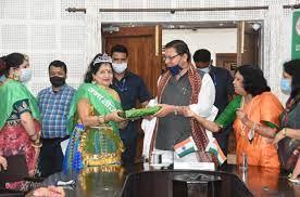 """मुख्यमंत्री ने किया उत्तरांचल महिला एसोसिएशन """"उमा"""" द्वारा आयोजित टीकाकरण जागरूकता कार्यक्रम में प्रतिभाग"""