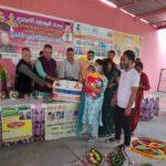 """बाल विकास परियोजना द्वारा आयोजित कर्यक्रम के तहत] मंत्री गणेश जोशी ने. सही पोषण को लेकर दिलाई लोगों को शपथ """"सही पोषण देश रोशन"""" का लगवाया नारा"""