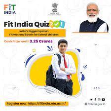 केंद्रीय खेल मंत्रालय द्वारा घोषित इंडिया क्विज़ 2021 के लिए, विद्यालयों में छात्र.छात्राओं के नामांकन प्रक्रिया शुरु