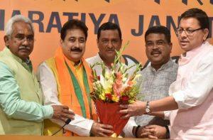 भाजपा में शामिल हुए कांग्रेस के विधायक राजकुमार, सहसपुर से चुनाव लड़ने के संकेत